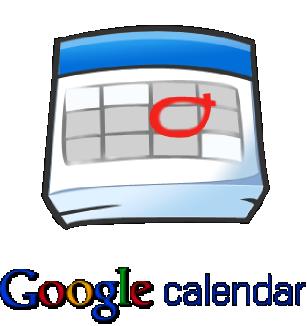 Google Calendar invitation